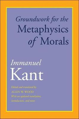 Groundwork for the Metaphysics of Morals by Immanuel Kant image