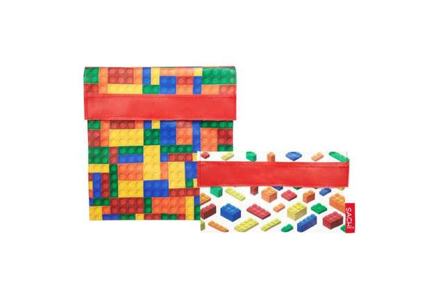 Sachi: Reusable Lunch Pocket Set - Bricks