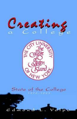 Creating a College by Edmond Volpe image