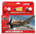 Airfix Curtiss Tomahawk IIB Starter Set 1/72 Model Kit