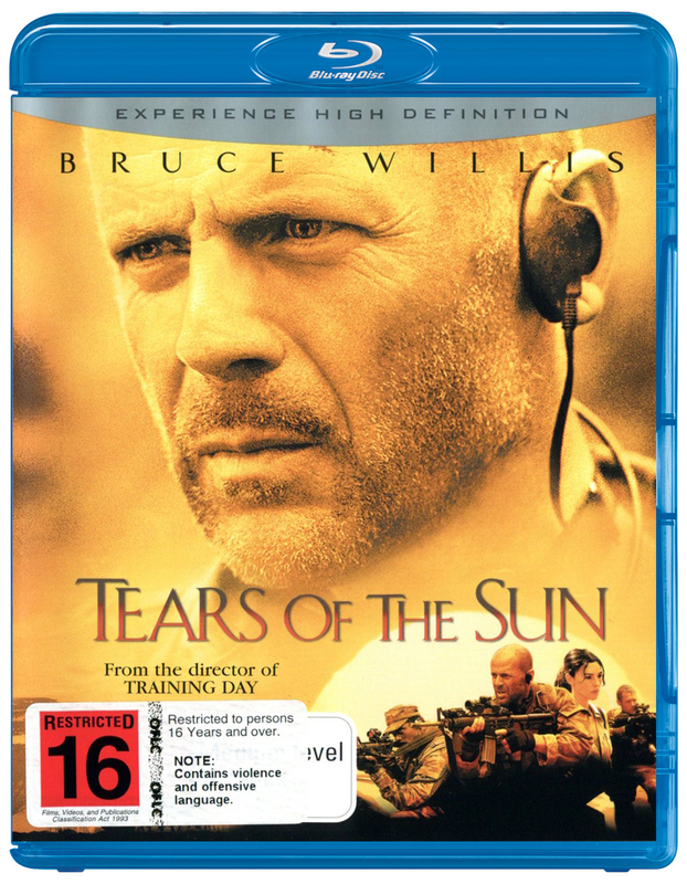 Tears of the Sun on Blu-ray