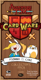 Adventure Time Card Wars - Fionna vs Cake