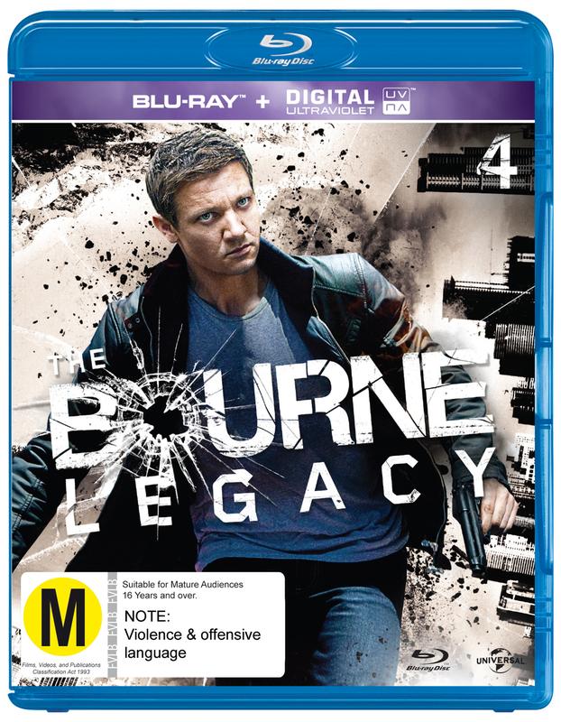 The Bourne Legacy on Blu-ray, UV