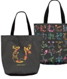 Pokemon-kana? Tote Bag - Black