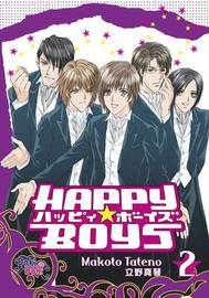 Happy Boys Volume 2 by Makoto Tateno image