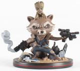 Marvel: Rocket & Groot - Q-Fig Diorama