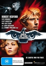 Three Days of The Condor on DVD