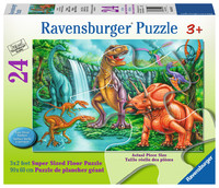 Ravensburger : Dino Falls SuperSize Puzzle 24pc