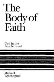 The Body of Faith by Michael Wyschogrod image