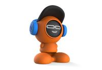 iDance Beatdude Bluetooth Wireless Speaker- Orange