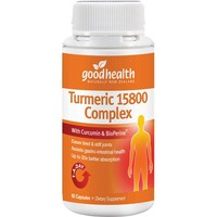 Good Health - Turmeric 15800 Complex Capsules (60s)
