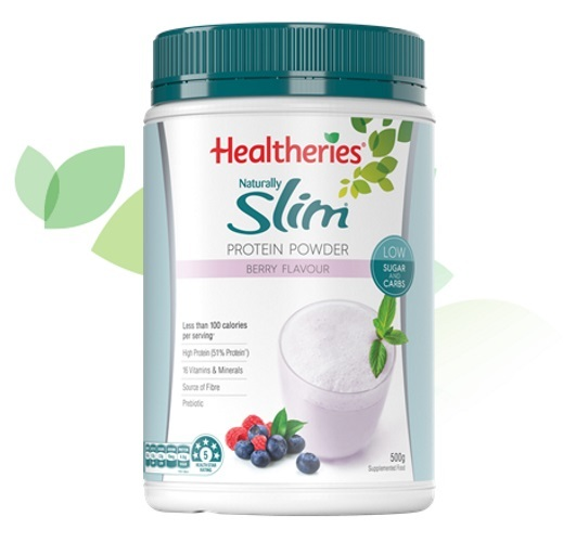 Healtheries Naturally Slim Meal Replacement - Summer Berry 500g