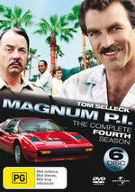 Magnum P.I. - Complete Season 4 (6 Disc Set) on DVD