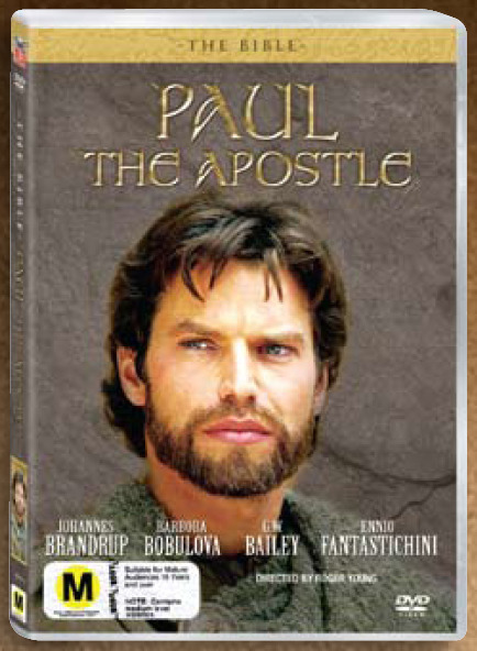 The Bible - Paul The Apostle on DVD