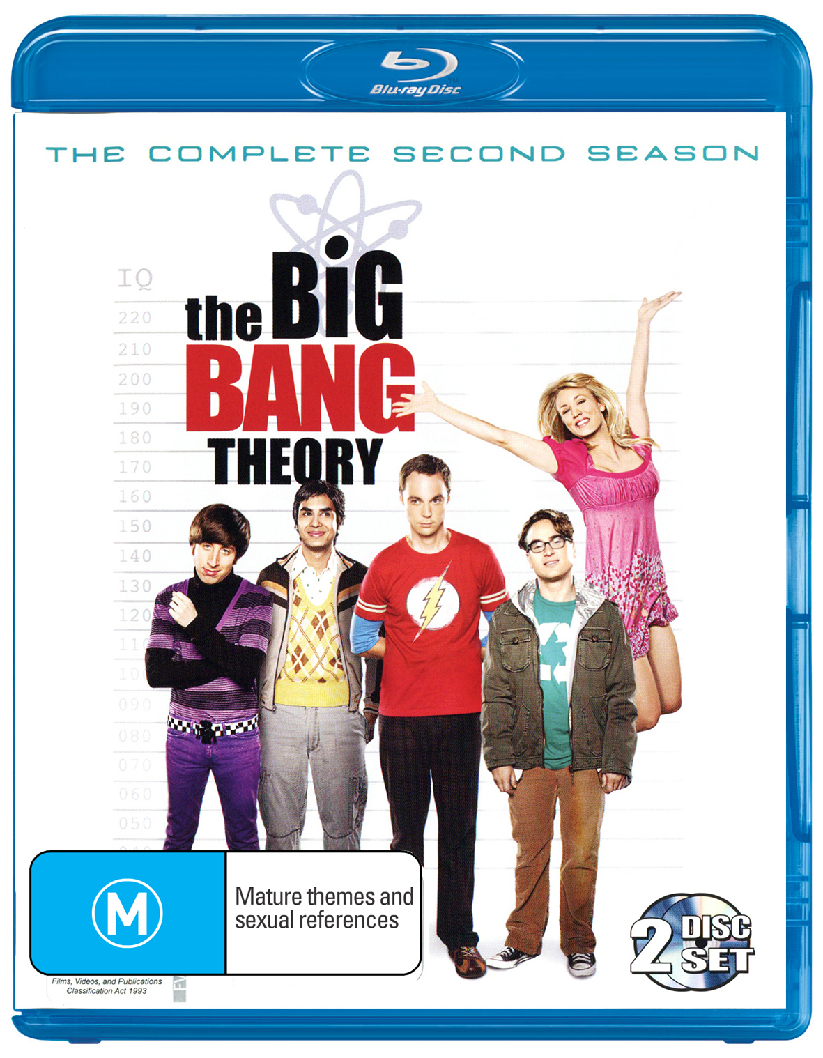 The Big Bang Theory - The Complete Second Season on Blu-ray image
