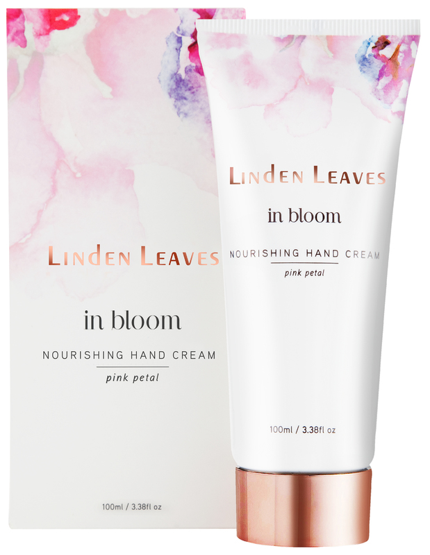 Linden Leaves Nourishing Hand Cream - Pink Petal