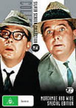 Silver Screen Collection - Morecambe And Wise (Intelligence Men / Magnificent Two / That Riviera Touch) (3 DiscSet) on DVD