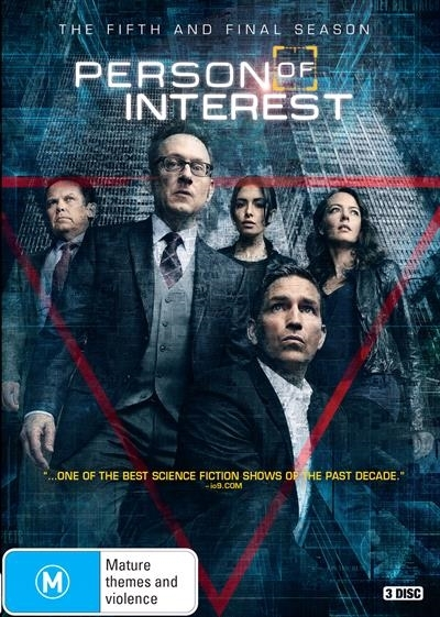 Person of Interest - The Fifth and Final Season on DVD image