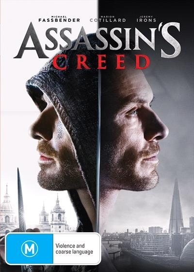 Assassin's Creed on DVD image