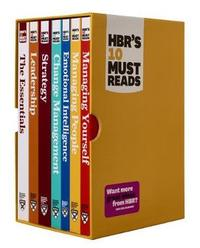 HBR's 10 Must Reads Boxed Set with Bonus Emotional Intelligence (7 Books) (HBR's 10 Must Reads) by Harvard Business Review