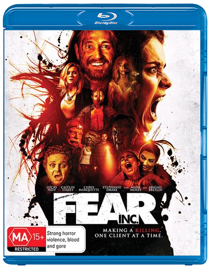 Fear Inc on Blu-ray
