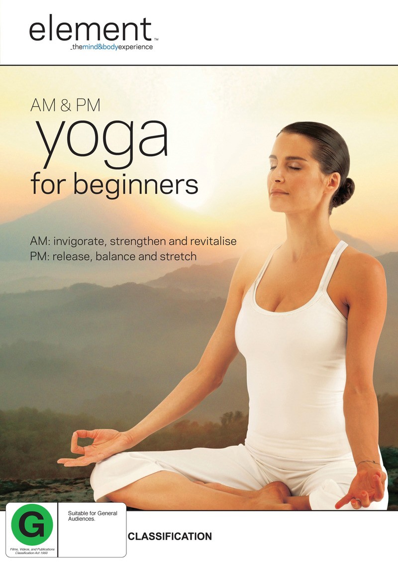 Element: AM & PM Yoga For Beginners on DVD image