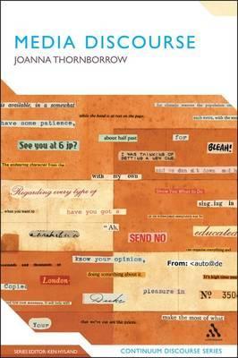 Media Discourse by Joanna Thornborrow (Cardiff University) image