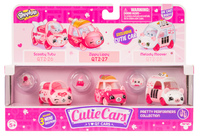 Shopkins: Cutie Car 3-Pack - Pretty Performers