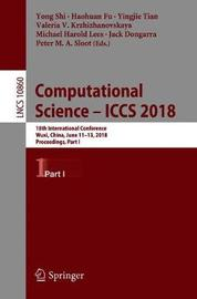 Computational Science - ICCS 2018 image