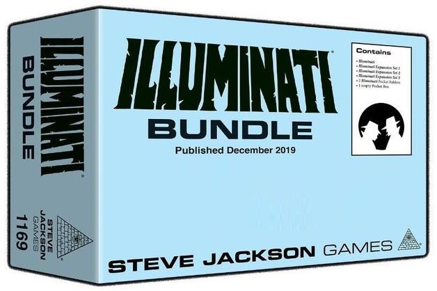 Steve Jackson: Illuminati Game Pack - Collection