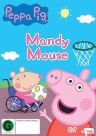Peppa Pig: Mandy Mouse on DVD image