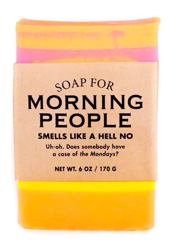 Whiskey River Co: Soap For Morning People