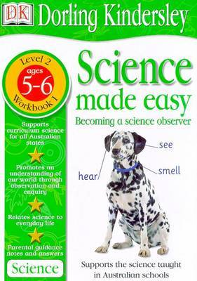 Science Made Easy Workbook 1: Becoming a Science Observer (Level 2: Age 5-6): S by Et Al Evansdavid image