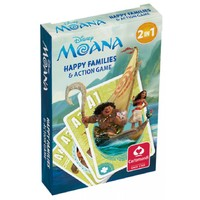 Moana Happy Family Card Game