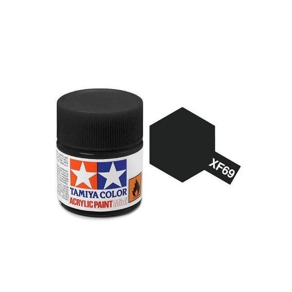 Tamiya Acrylic: NATO Black (XF69)