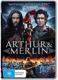 Arthur and Merlin on DVD