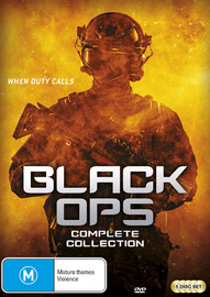 Black Ops - The Complete Collection on DVD