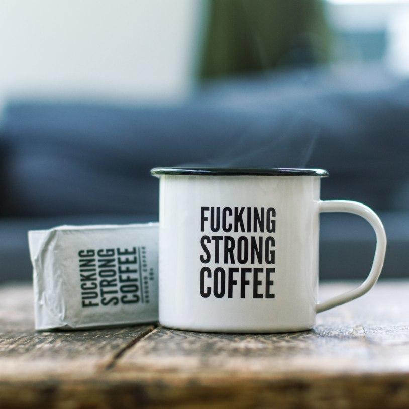 F*cking Strong Coffee & Mug Set image