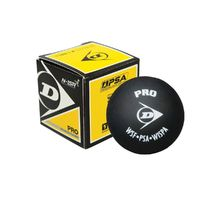 Dunlop Pro 2xYellow Dot Squash Ball