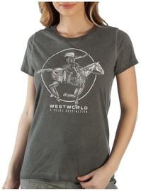 Westworld: A Delos Destination - Juniors T-Shirt (Small)