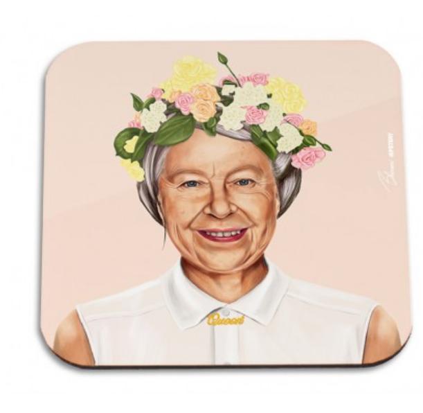 HipStory Coaster - Queen Elizabeth