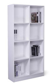 Ape Style: 8 Cube Storage Cubby - White image