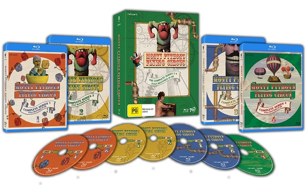 Monty Python's Flying Circus: The Complete Series (Restored) on Blu-ray