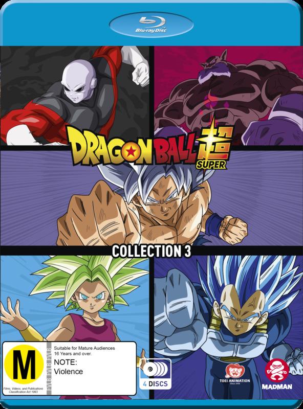 Dragon Ball Super - Collection 3 on Blu-ray