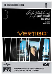 Vertigo on DVD