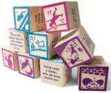 Uncle Goose - Nursery Rhyme 9 Block Set