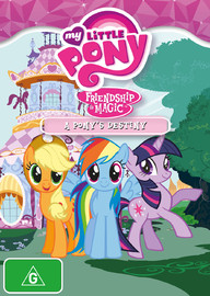 My Little Pony: Friendship is Magic (Season 3, Volume 3) - A Pony's Destiny on DVD