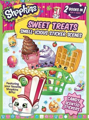 Shopkins: Sweet Treats/Cheeky Chocolate (Sticker and Activity Book) by Little Bee Books image
