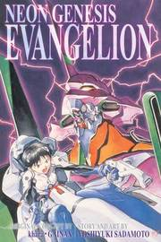 Neon Genesis Evangelion 3-in-1 Edition, Vol. 1 by Yoshiyuki Sadamoto