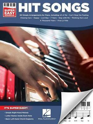 Hit Songs Super Easy Songbook (Piano) by Hal Leonard Publishing Corporation image